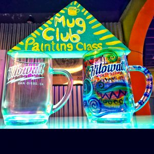 Beer Mug Painting Class @ Kilowatt Ocean Beach