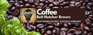 Belt Notcher Brown: Local Coffee Edition with Secret Coffee Co.