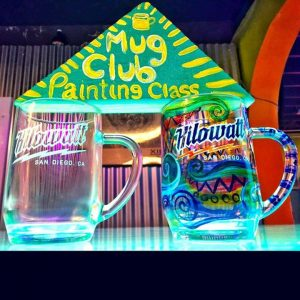 Holiday Beer Mug Painting Class