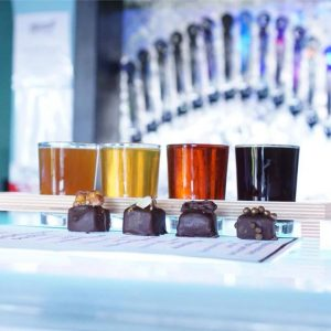 Beer & Chocolate Pairing @ Kilowatt Brewing Kearny Mesa