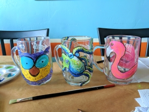 Holiday Beer Mug Painting Class @ Kilowatt Brewing Ocean Beach