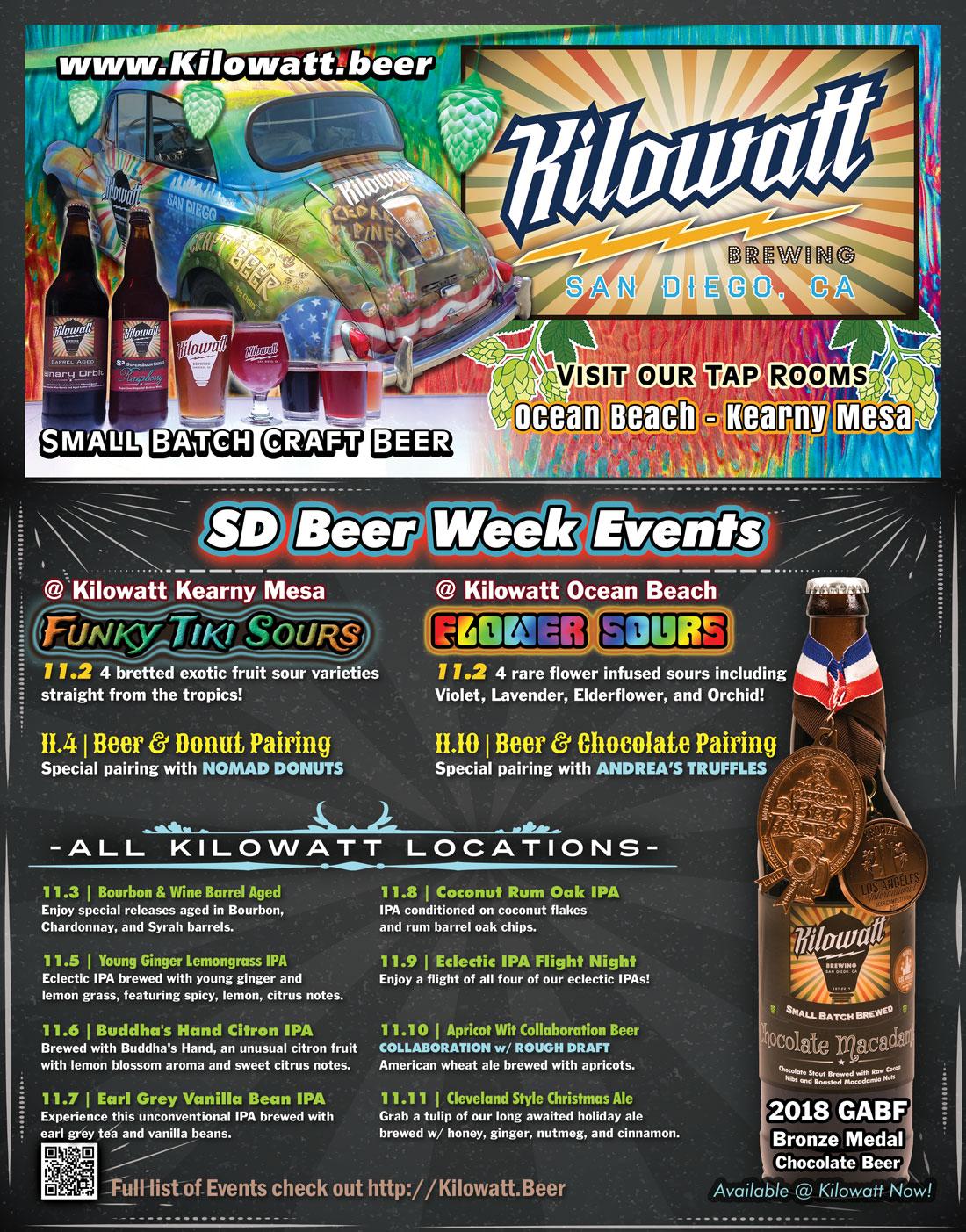 san diego beer week 2018 schedule