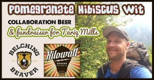 Kilowatt/Belching Beaver Collab & Fundraiser for Tariq Mills @ Kilowatt Brewing Ocean Beach