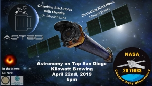 Astronomy on Tap at Kilowatt Brewing @ Kilowatt Brewing Kearny Mesa