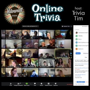 Online Trivia! @ Online Zoom Triva